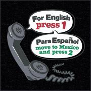FOR ENGLISH PRESS 1 - PARA ESPANOL MOVE TO MEXICO AND PRESS 2